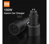 Xiaomi CC07ZM 100W Car Chager 1A1C, PD3.0 + USB QC5.0, black