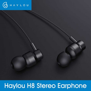 Xiaomi Haylou H8 wired earphones, black