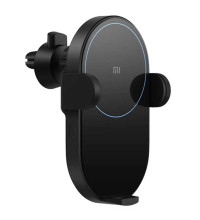 Xiaomi Mi Wireless Car Charger, 20w, автозажим, на решетку (WCJ02ZM) black