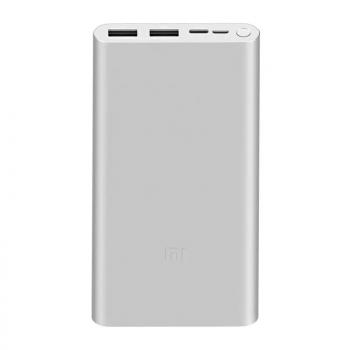 Xiaomi Mi Power Bank 3  10000mah, USB-C 18w (PLM13ZM) silver