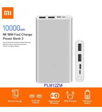 Xiaomi Mi Power Bank 3 10000mah, PD 18w (PLM12ZM) silver