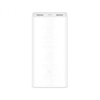 Внешний аккумулятор Xiaomi Mi Power Bank 2C 20000 mAh White