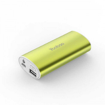 Внешний аккумулятор Yoobao Power Bank YB-6012 5200 mAh Green