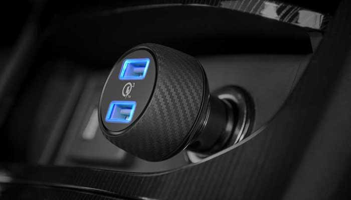 Автомобильное зарядное устройство Anker с 2 портами Quick Charge 3.0