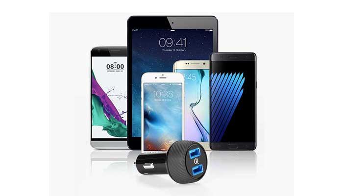 Универсальное АЗУ для телефона и планшета Anker PowerDrive Speed 2