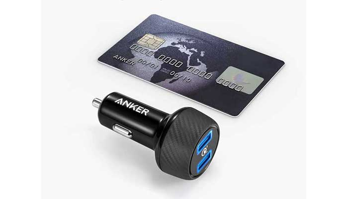 Компактное автомобильное ЗУ Anker 39W PowerDrive Speed Car Charger