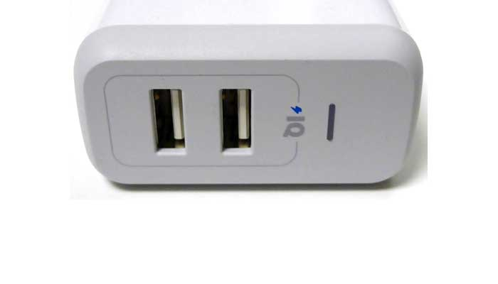 Anker 24W 4.8A PowerPort 2 Ports Wall Charger White