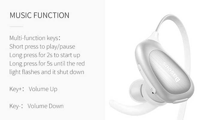 Baseus Encok S02 Bluetooth Earphone