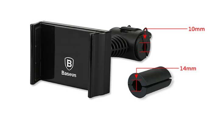 Резиновые уплотнители для крепежа на подголовник Baseus Happer. Магазин DERJAK.RU