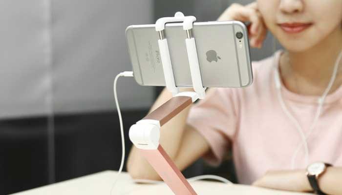 Удобное настольное крепление для телефона Baseus Portable Lazy Bracket