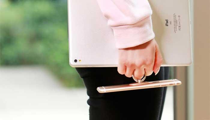 Держатель на палец - кольцо на руку baseus