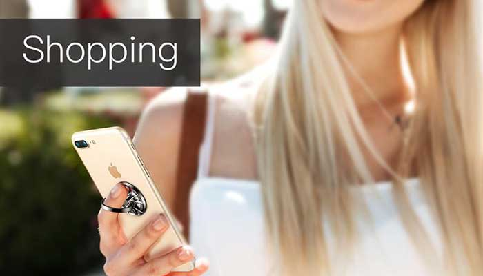 Стильный держатель для iPhone на руку