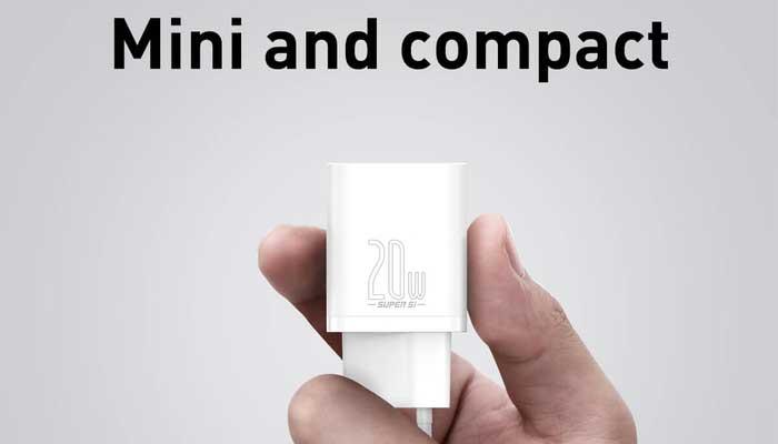 Baseus Super Si Quick Charger 1C 20W EU (CCSUP-B02) white