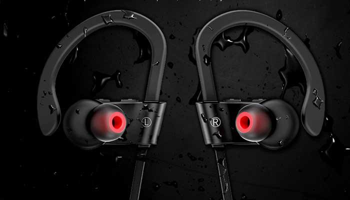 Спортивные Bluetooth наушники Hoco ES7 с защитой от влаги и пота
