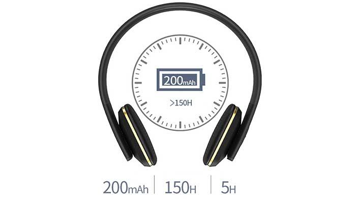 Hoco W9 Bluetooth - 150 часов в режиме ожидания