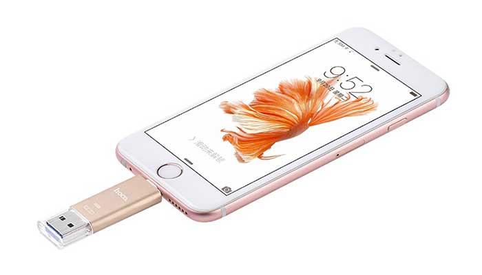 MFI флешка для iPhone Hoco UD2