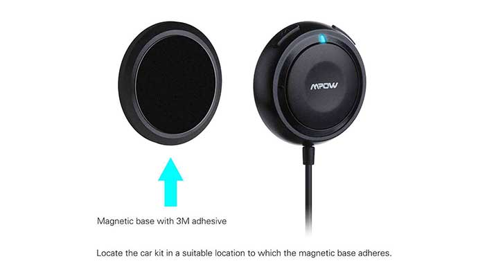 MPOW Bluetooth Hands-Free Car Kit