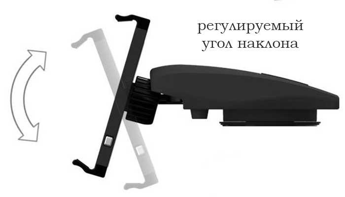 Крепеж для планшета PPyple Dash-NT! Южная Корея! Купить в магазине DERJAK.RU