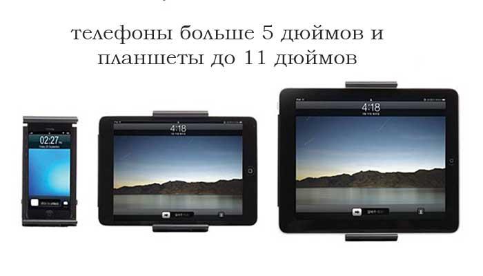 Лучшее крепление для планшета на подголовник Ppyple HR-NT! Купить в магазине DERJAK.RU