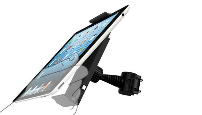 Как закрепить планшет на подголовник? Купите Ppyple HR-NT! Купить в магазине DERJAK.RU