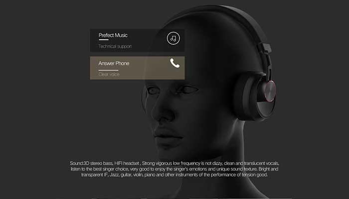 Remax RB-500HB Hi-Fi Music Bluetooth Headphones