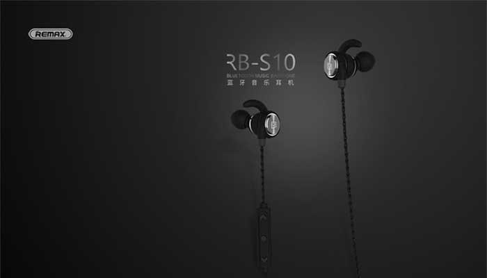 Remax RB-S10 Magnetic Sport Bluetooth Earphone black