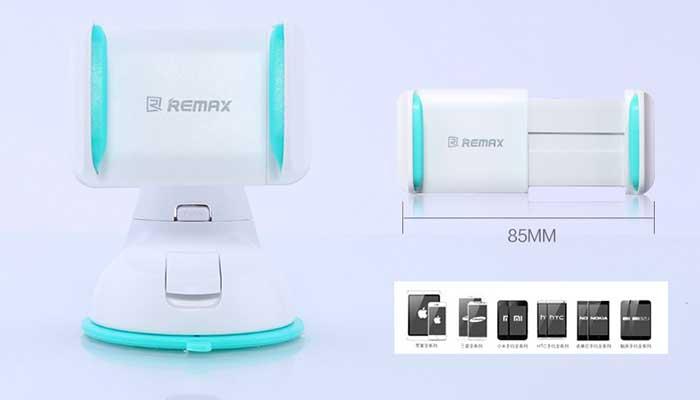 Стильный Remax RM-C06 - надежный держатель для смартфона на торпеду.