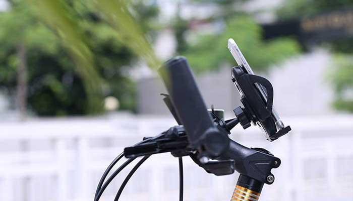 Крепление на руль велосипеда для смартфонов до 6 дюймов