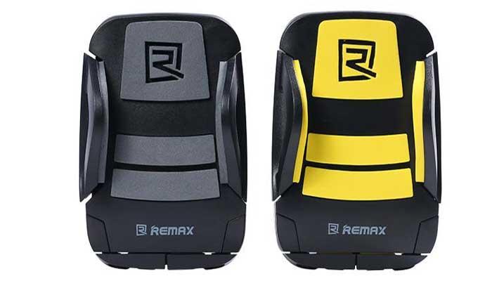 Надежный крепеж на руль Remax RM-C08. Купить в магазине DERJAK.RU