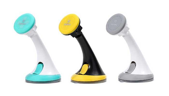 Надежный магнитный держатель для телефона Remax RM-C09. Купить в магазине DERJAK.RU