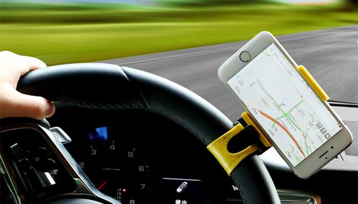 Компактный крепеж на руль в машину Remax RM-C11. Купить в магазине DERJAK.RU