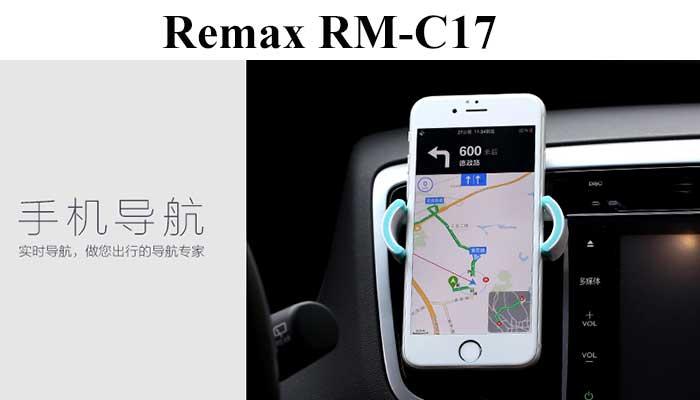 Держатель смартфона в дефлектор Remax RM-C17.