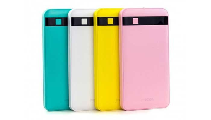 Тонкие аккумуляторы - Remax Proda Gentleman Power Bank 12000 mAh. 4 цвета надорого в магазине DERJAK.RU
