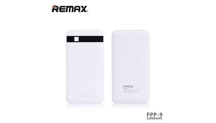 Практичный аккумулятор большой  емкости - Remax Proda Gentleman на 12000 mAh. Купить в магазине DERJAK.RU