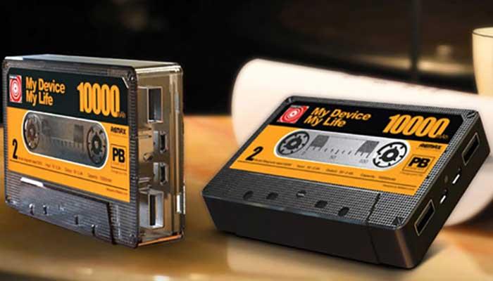 Самый оригинальный павербанк! Remax Tape 10000 mAh в стиле аудиокассеты.