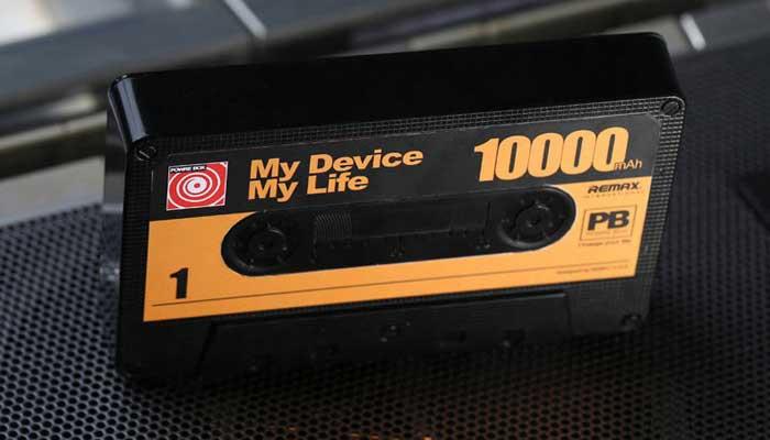 Удивите друзей! Подарите уникальный Remax Tape Power Box!