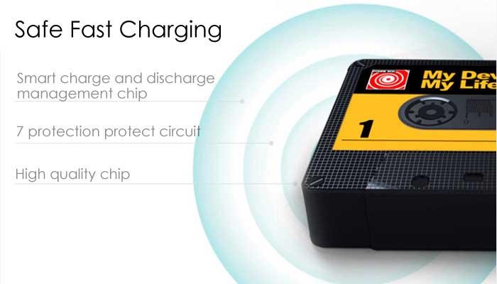 Дополнительная зарядка Remax с 7 степенями защиты.