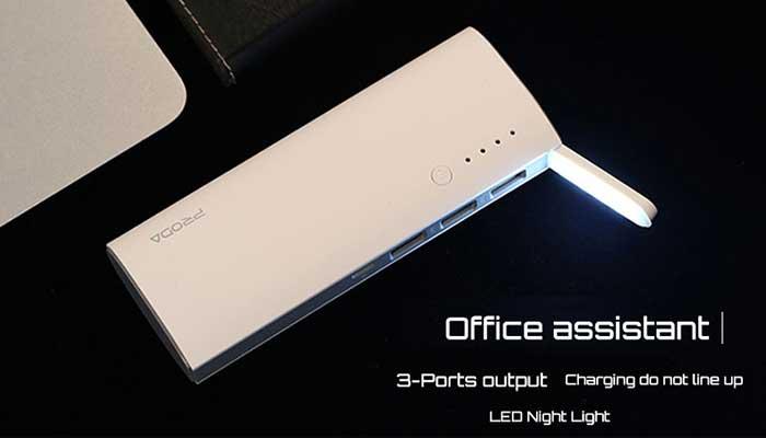 Ваш верный помощник на работе и дома - Remax Proda Star Talk 12000 mAh PPP-11! Купить в магазине DERJAK.RU