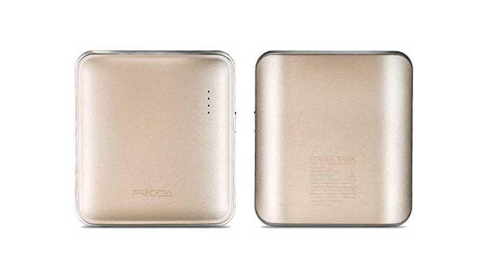 Стильный и миниатюрный внешний аккумулятор Remax Proda Mink 5000 mah