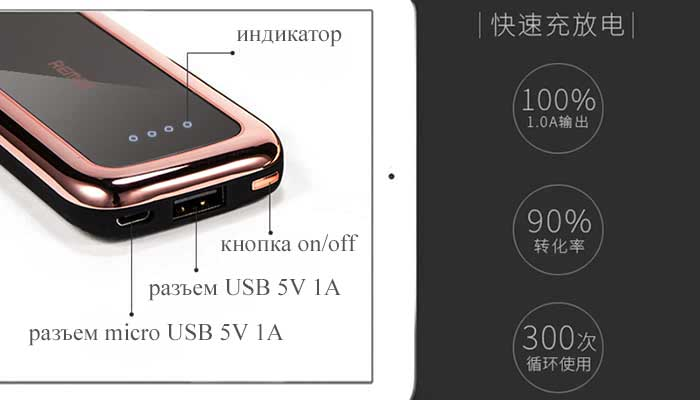 Дополнительная зарядка для телефона Remax Rpp-35