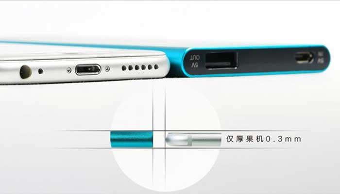 Ультра тонкий внешний аккумулятор Remax Proda PP-V08 на 8000 mah