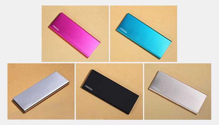 Стильные портативные аккумуляторы Remax Proda pp-v08