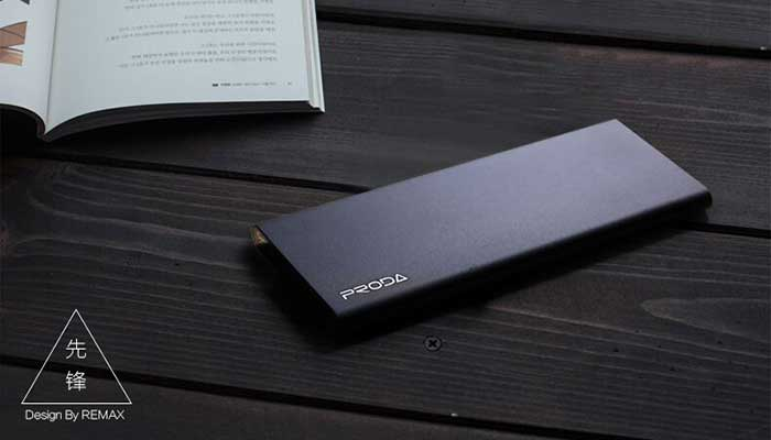 Стильный аккумулятор для телефона и планшета Remax Proda Vanguard PP-V08