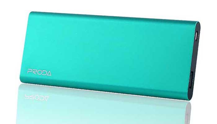 Proda PP-V12 - портативный аккумулятор в алюминиевом корпусе