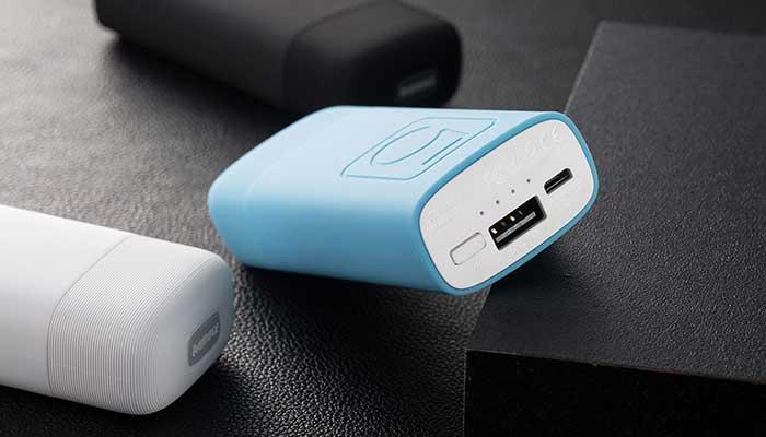Компактная зарядка для планшета Remax Fliunk 5000 mah с выходом 2A