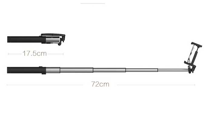 Монопод с AUX Remax P5 Selfie Stick