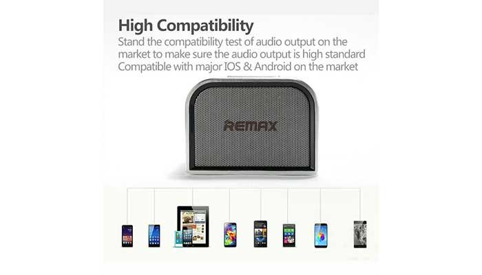 Компактная колонка для смартфона Remax M8 mini
