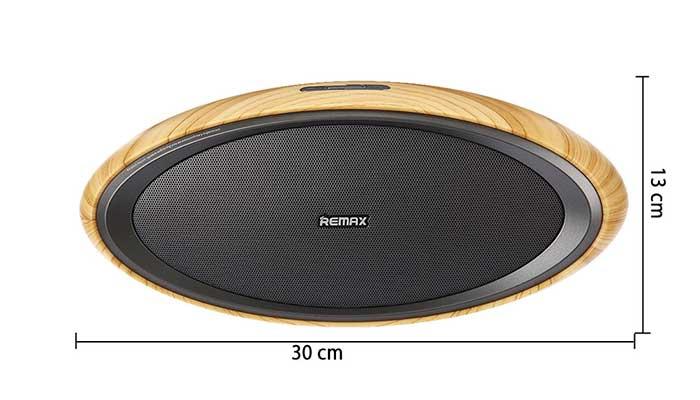 Размеры деревянной колонки Remax H7 Wooden Bluetooth Speaker