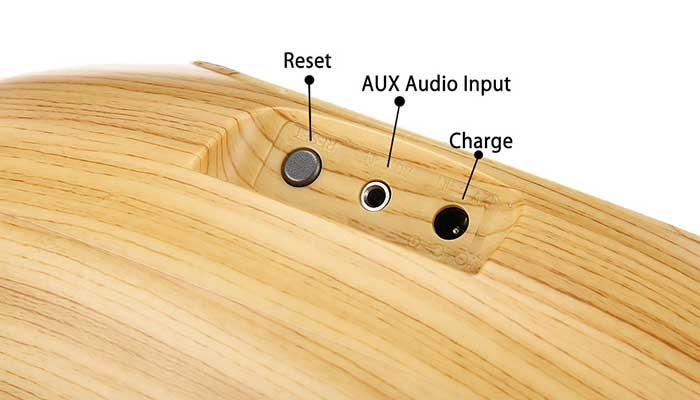 Разъемы Bluetooth акустики Remax RB-H7