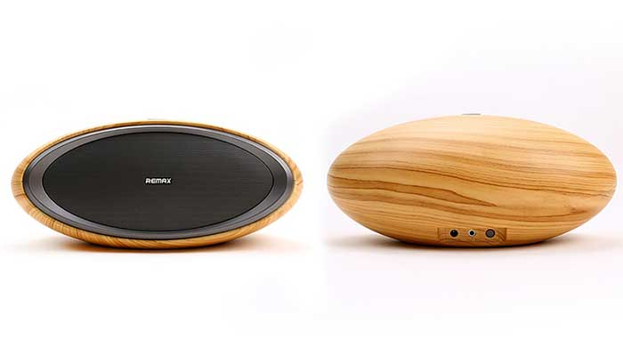 Деревянная портативная колонка Wooden RB-H7 Bluetooth Speaker от компании Remax